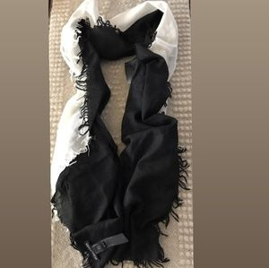 Eileen Fisher Two Tone Scarf NWOT